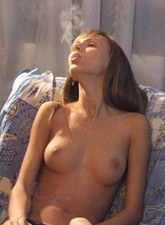 Sexy smoking nude smoking mistresses